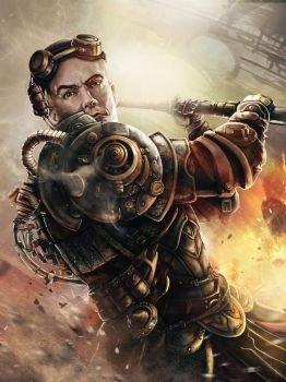 Image result for steampunk warrior
